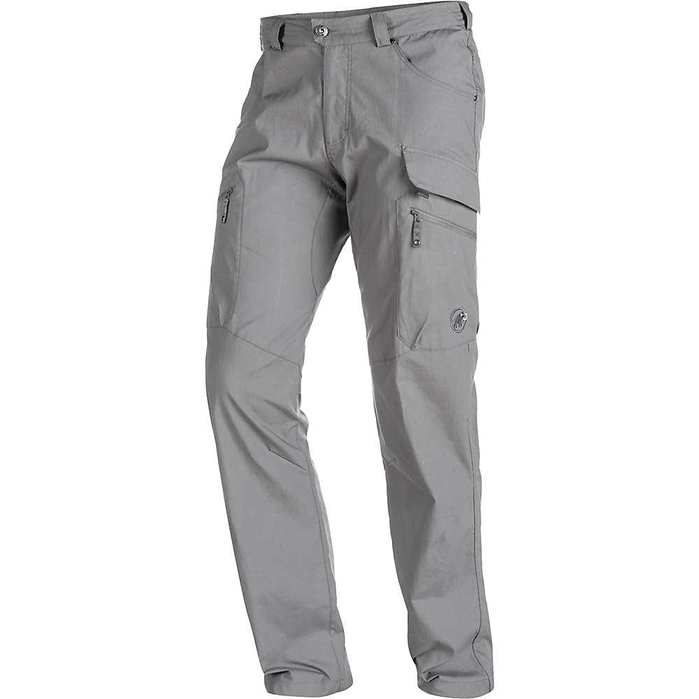 本物保証 マムート メンズ ハイキング ウェア【Mammut Trovat Pant】Titanium
