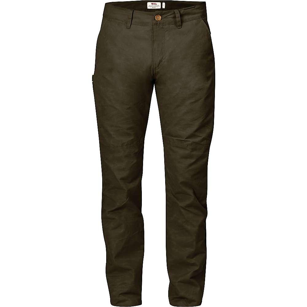 魅力の新作 - 特別価格! フェールラーベン メンズ ハイキング ウェア【Fjallraven Sormland Tapered Trouser】Dark Olive