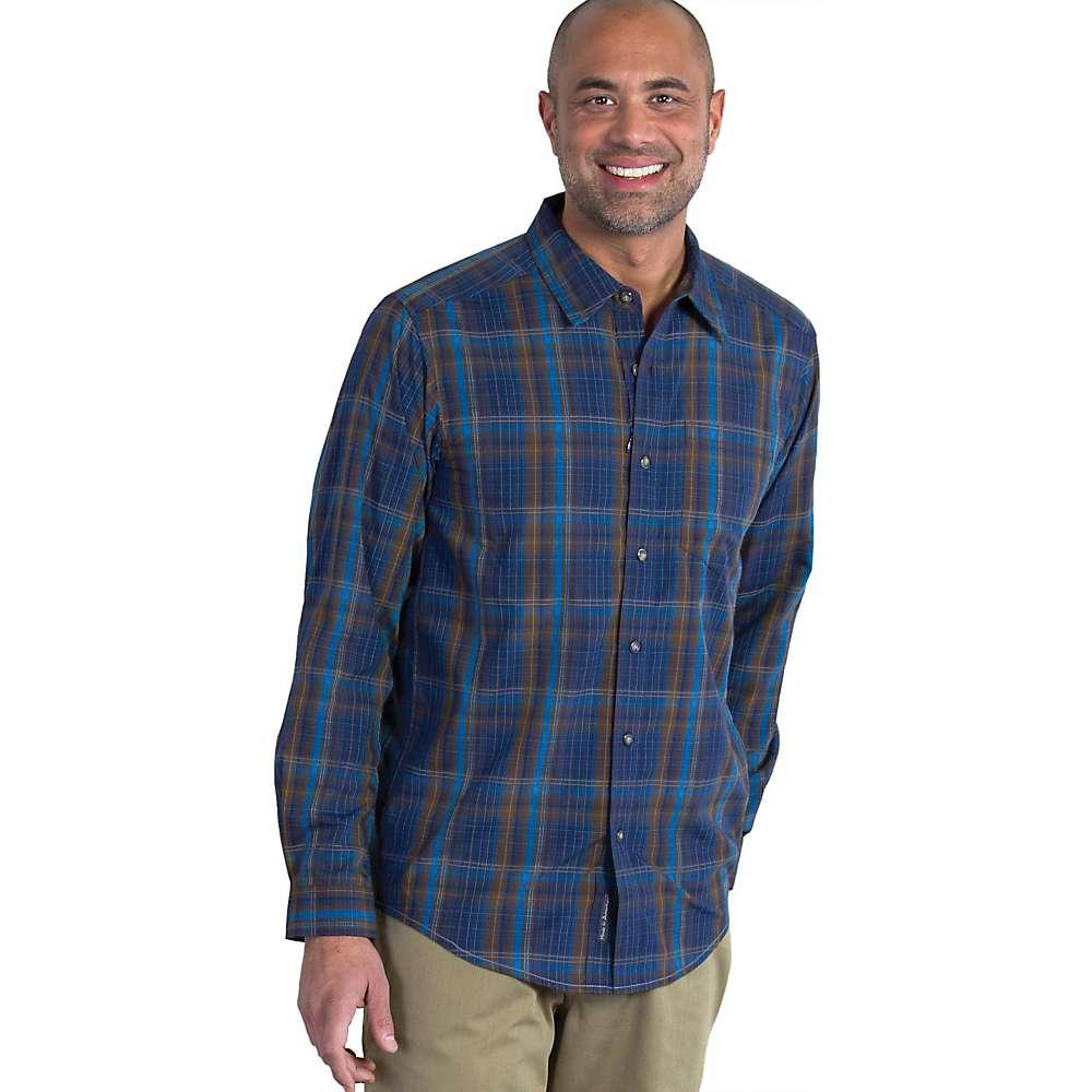 エクスオフィシオ メンズ トップス 長袖シャツ【ExOfficio Kelion LS Shirt】Navy