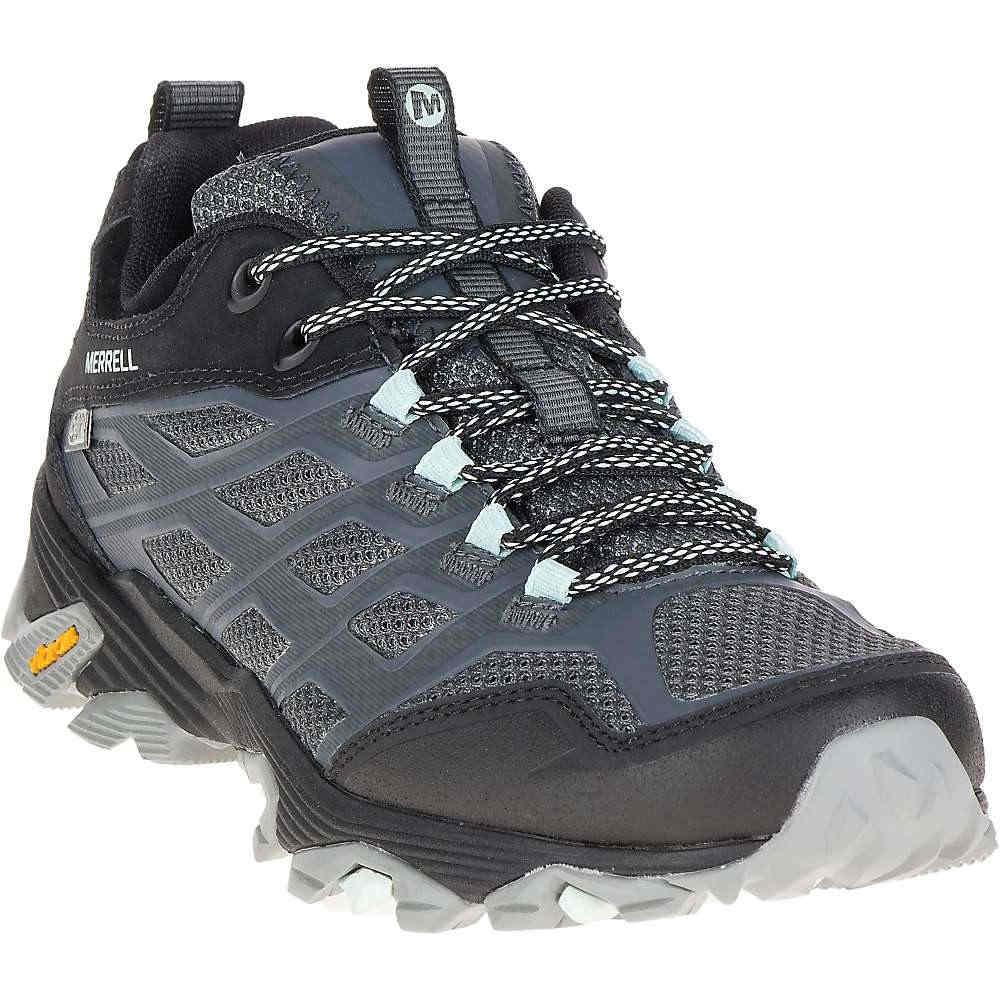 メレル レディース ハイキング シューズ?靴【Merrell MOAB FST Waterproof Shoe】Granite