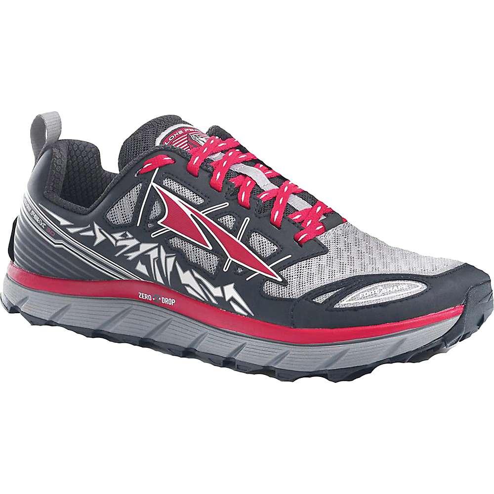 アルトラ メンズ ランニング シューズ・靴【Altra Lone Peak 3.0 Shoe】Black / Red