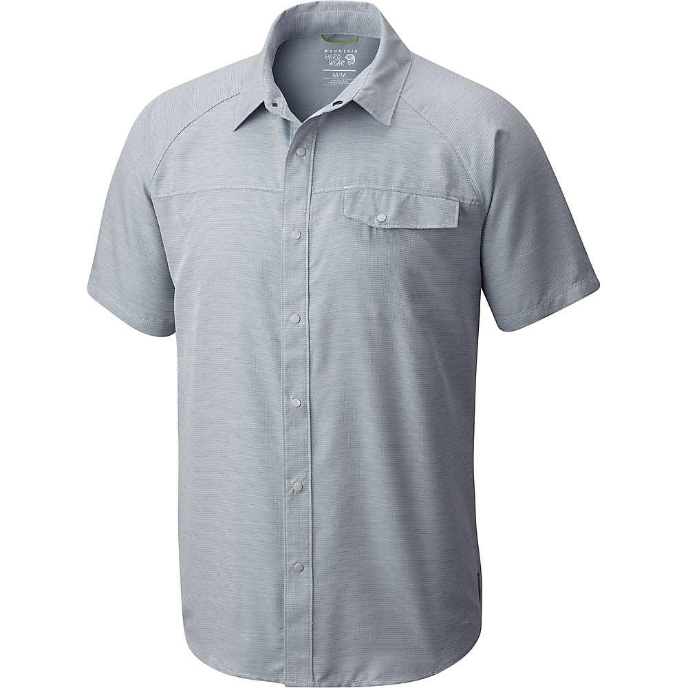 マウンテンハードウェア メンズ トップス 半袖シャツ【Mountain Hardwear Technician SS Shirt】Phoenix Blue