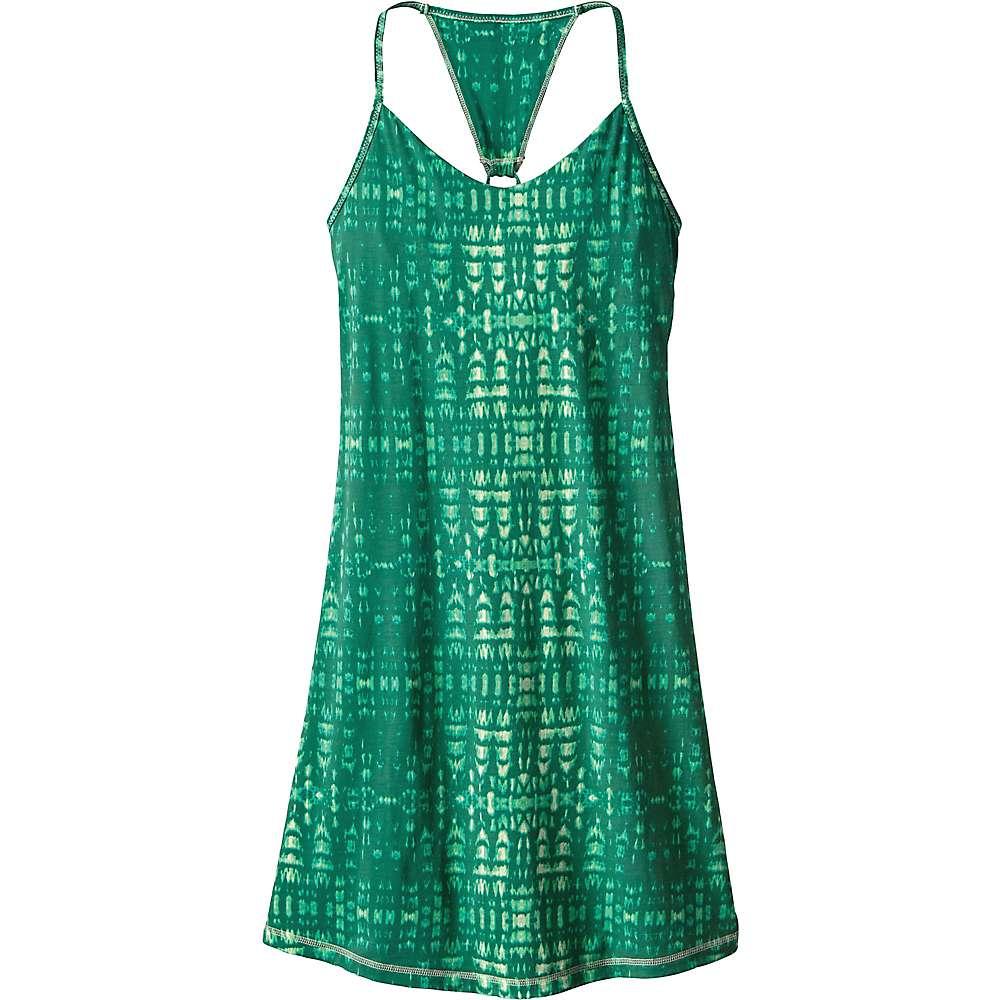 パタゴニア レディース トップス ワンピース【Patagonia Edisto Dress】Tidewater / Gem Green