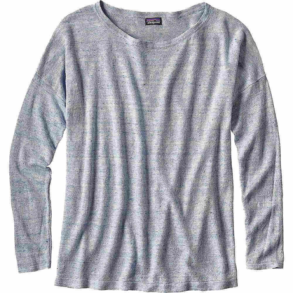 パタゴニア レディース トップス ニット・セーター�Patagonia Lightweight Linen Sweater】Cuban Blue