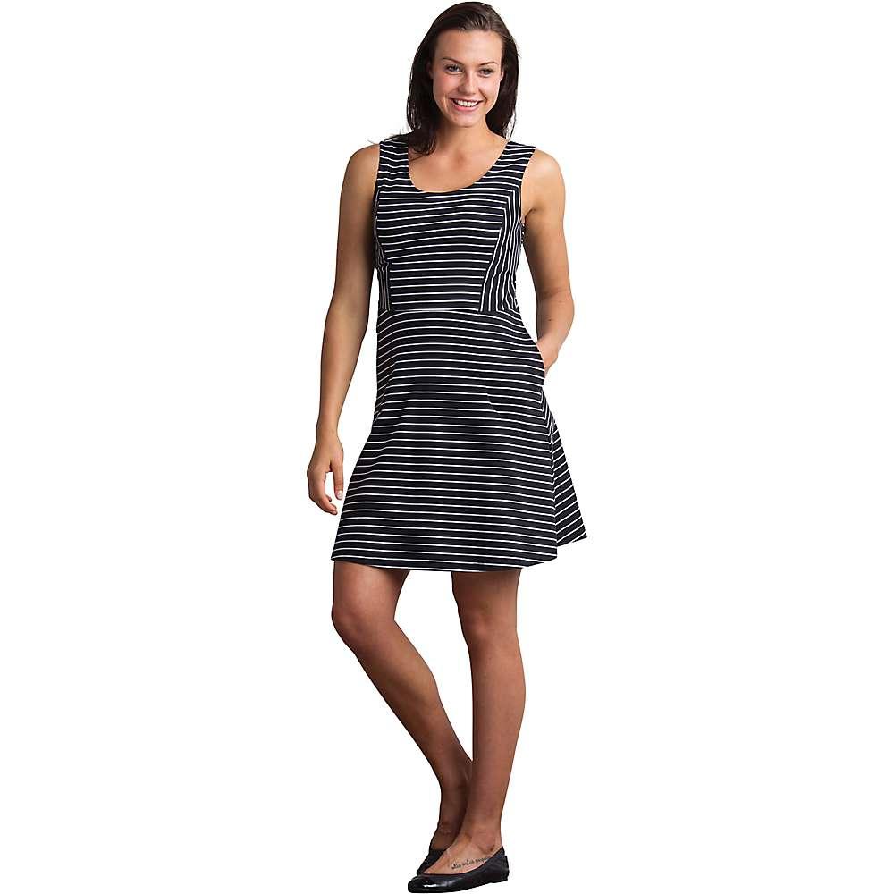 エクスオフィシオ レディース トップス ワンピース【ExOfficio Odessa Tank Dress】Black / White