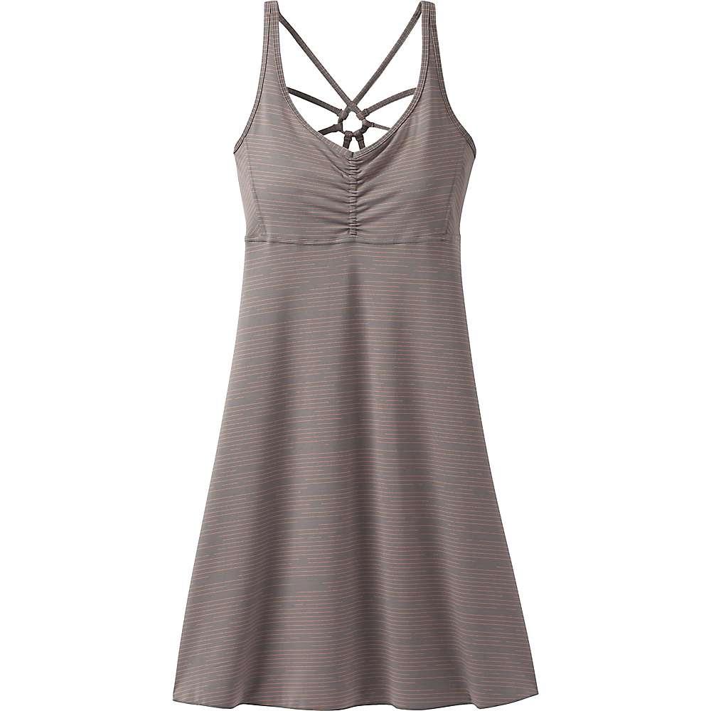プラーナ レディース トップス ワンピース【Prana Dreaming Dress】Moonrock Broken Stripe