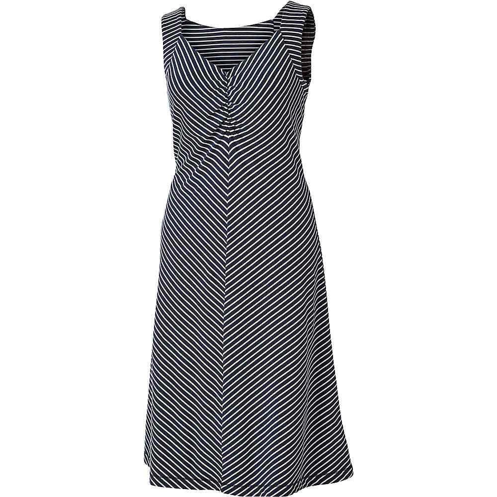 ロイヤルロビンズ レディース トップス ワンピース【Royal Robbins Active Essential Stripe Dress】Navy
