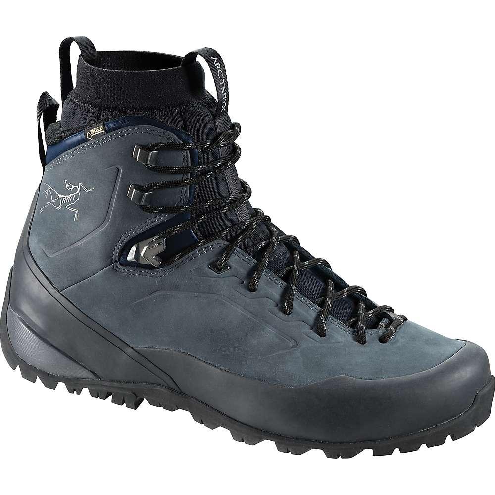 とても素敵 アークテリクス メンズ ハイキング シューズ?靴【Arcteryx Bora2 Mid Leather Boot】Grey Denim / Black