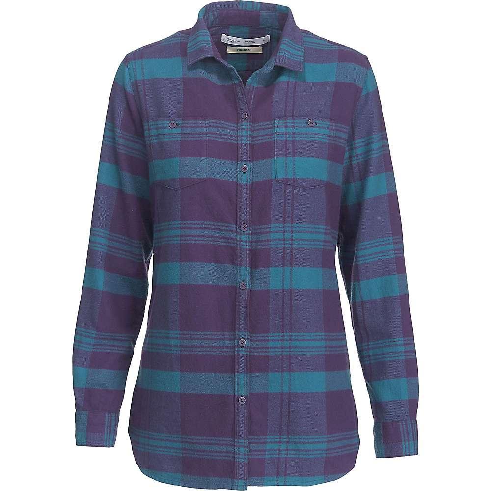 ウールリッチ レディース トップス ブラウス・シャツ【Woolrich Buffalo Check Boyfriend Shirt】Purple Plumeria Plaid
