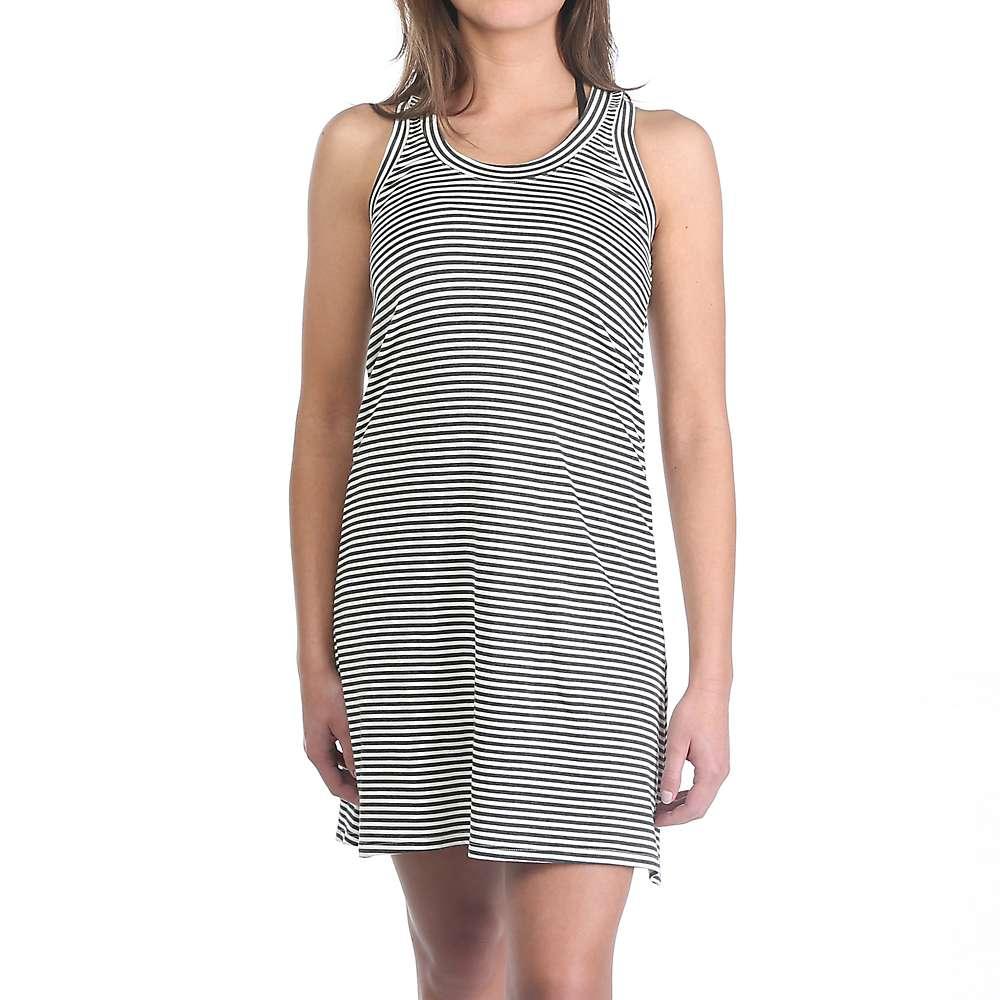 ムースジョー レディース トップス ワンピース【Moosejaw Lakeside Dress】Charcoal Stripe