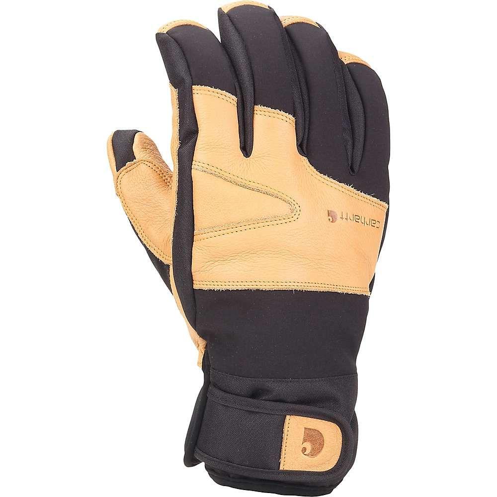 カーハート メンズ 手袋・グローブ【Carhartt Winter Dex Cow Grain Glove】Blk Brown