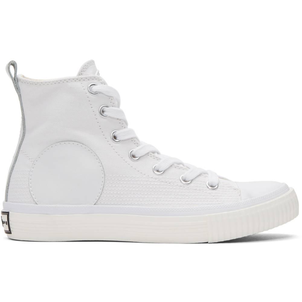 アレキサンダー マックイーン レディース シューズ・靴 スニーカー【White Swallow Plimsoll High-Top Sneakers】