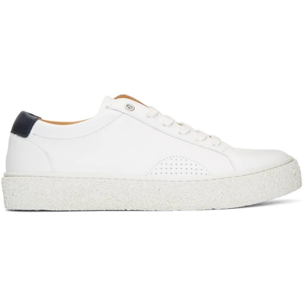 ワイエムシー レディース シューズ・靴 スニーカー【White & Navy DAP 1 Sneakers】