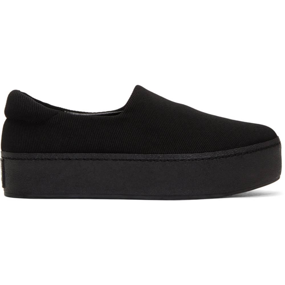 オープニングセレモニー レディース シューズ・靴 スニーカー【Black Cici Platform Slip-On Sneakers】