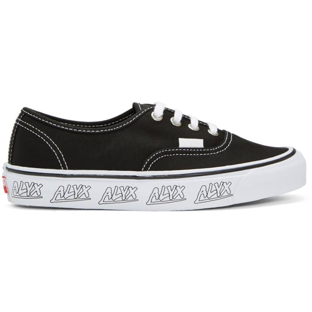 アリクス レディース シューズ・靴 スニーカー【Black Vans Edition OG Authentic LX Sneakers】