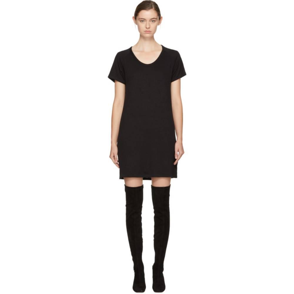 ラグ&ボーン レディース ワンピース・ドレス ワンピース【Black Raglan Sleeve Dress】