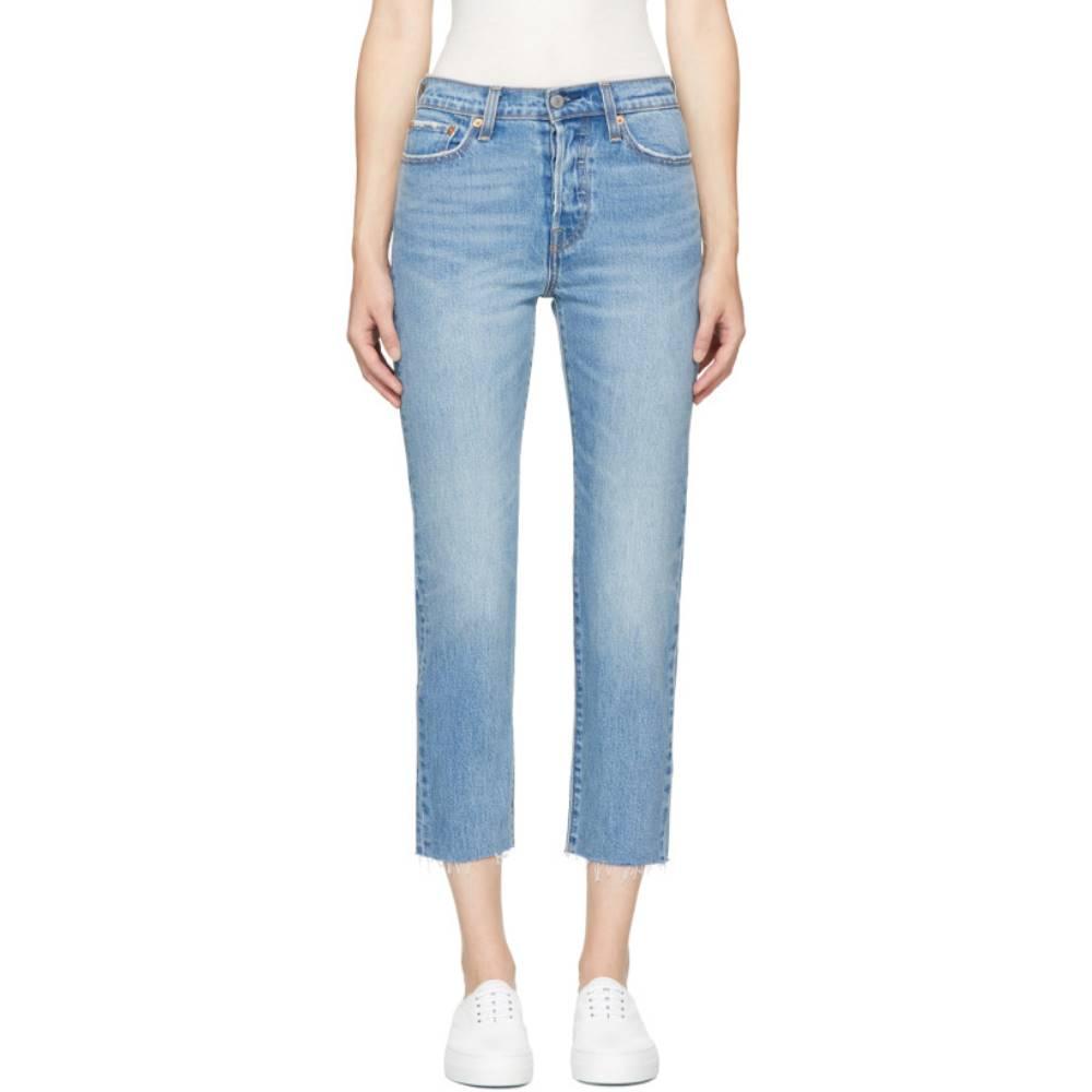 リーバイス レディース ボトムス・パンツ ジーンズ・デニム【Blue Wedgie Straight Jeans】