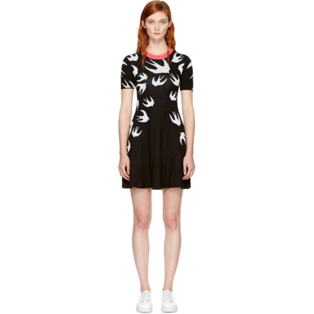 アレキサンダー マックイーン レディース ワンピース・ドレス ワンピース【Black Swallow Skater Dress】