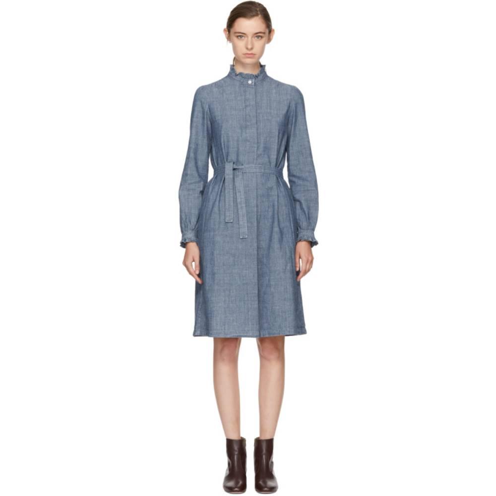 アーペーセー レディース ワンピース・ドレス ワンピース【Indigo Astor Dress】