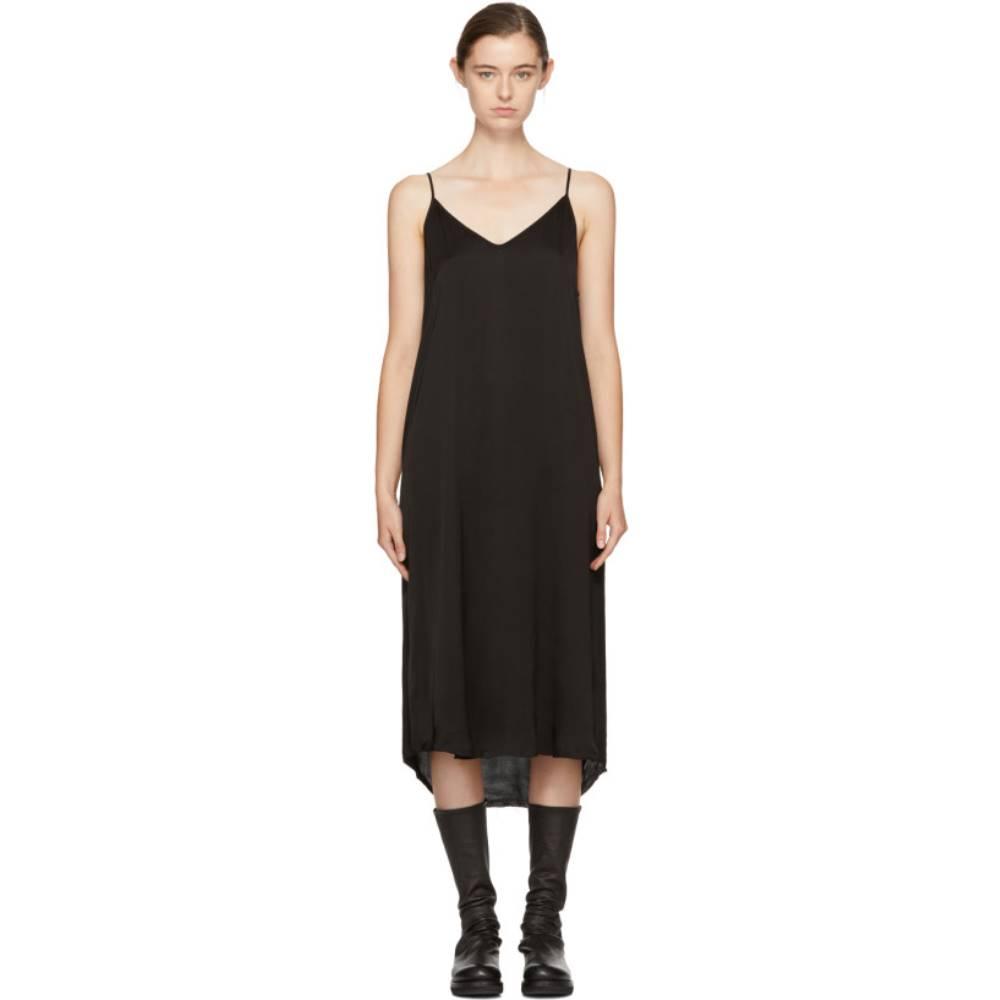 ラクエル アレグラ レディース ワンピース・ドレス ワンピース【Black Silk Slip Dress】