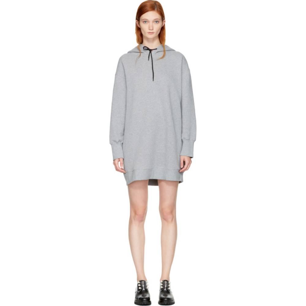 エムエスジーエム レディース ワンピース・ドレス ワンピース【Grey Oversized Hoodie Dress】