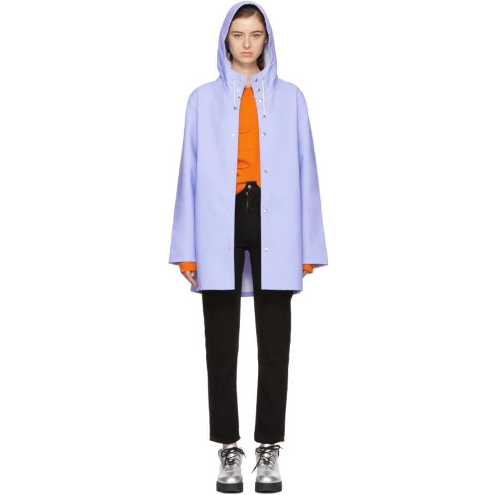 ストゥッテルハイム レディース アウター【Blue Stockholm Raincoat】