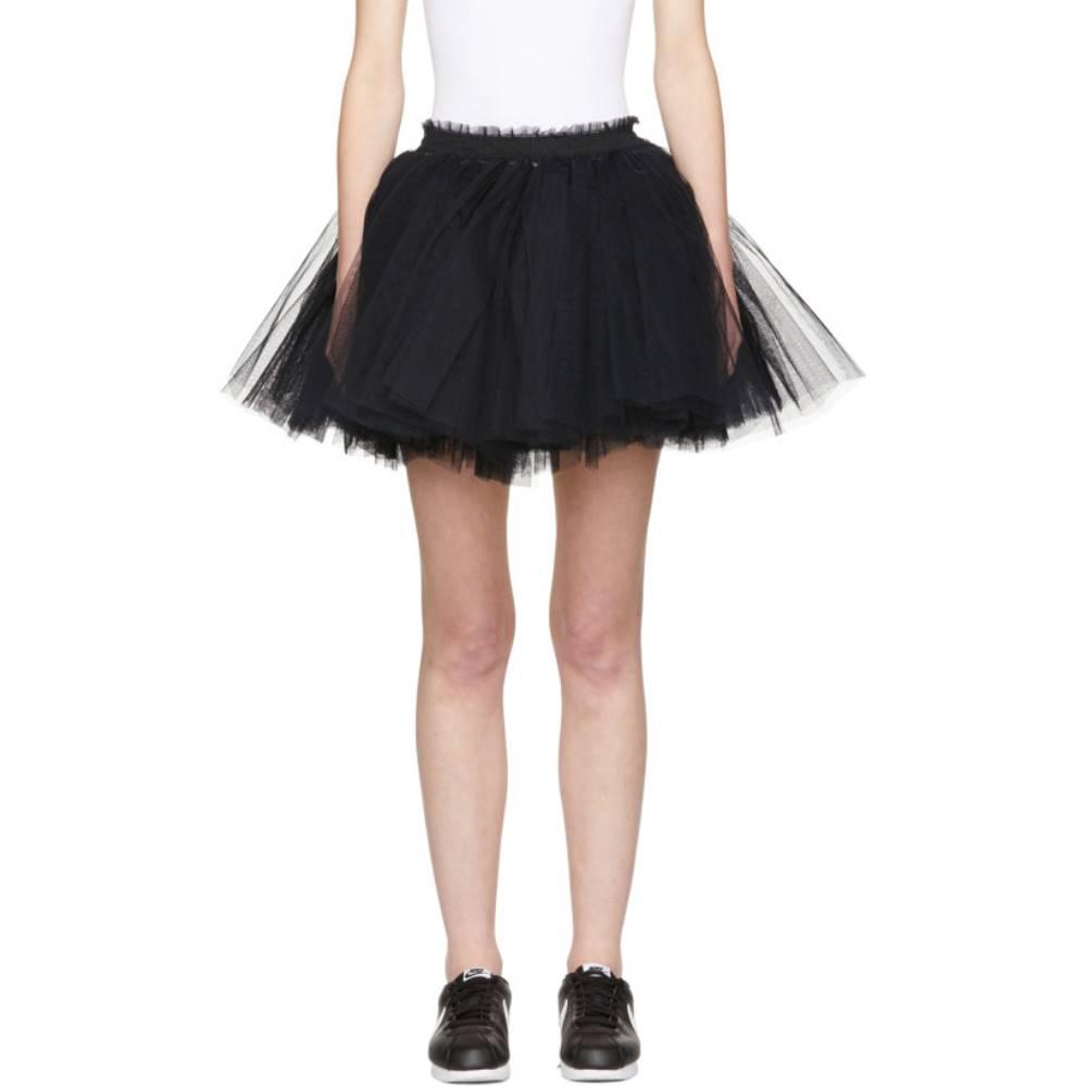 モリー ゴダード レディース スカート ミニスカート【Black Me Miniskirt】