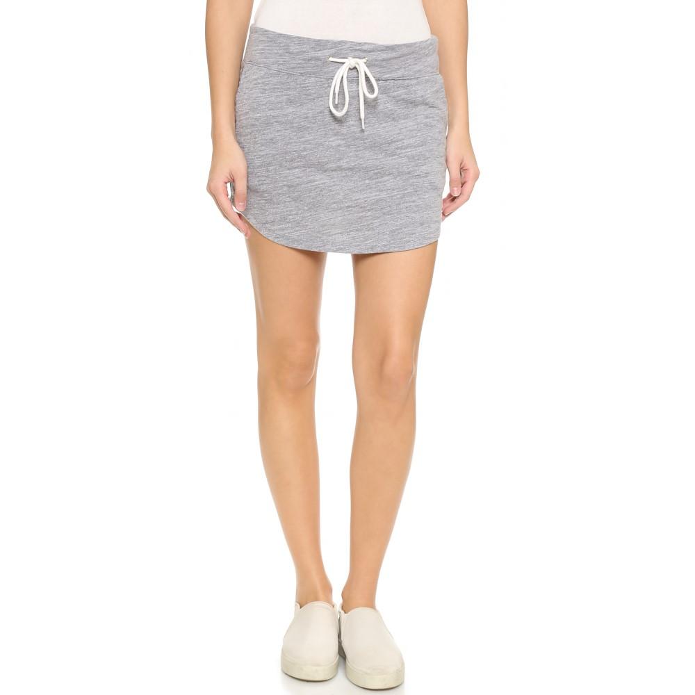 モンロー MONROW レディース スカート カジュアルスカート【Granite Slub Baseball Skirt】Granite