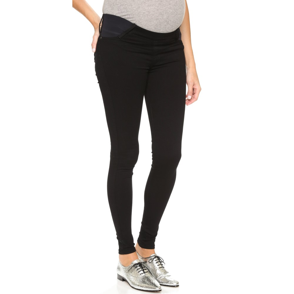 ジェイムスジーンズ James Jeans レディース ボトムス ジーンズ【Twiggy Maternity Under Belly Pull On Jeans】Black Swan