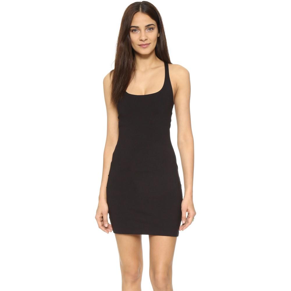 スサナモナコ Susana Monaco レディース トップス ワンピース【Racer Mini Dress】Black