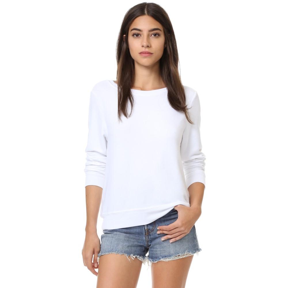 ワイルドフォックス Wildfox レディース トップス セーター【Basic Pullover】Clean White
