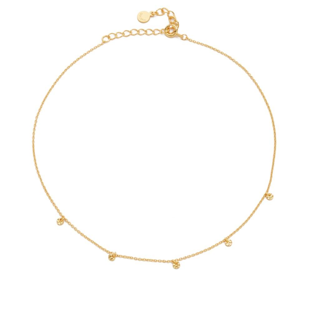 ゴリアナ Gorjana レディース アクセサリー ネックレス【5 Disc Choker Necklace】Gold