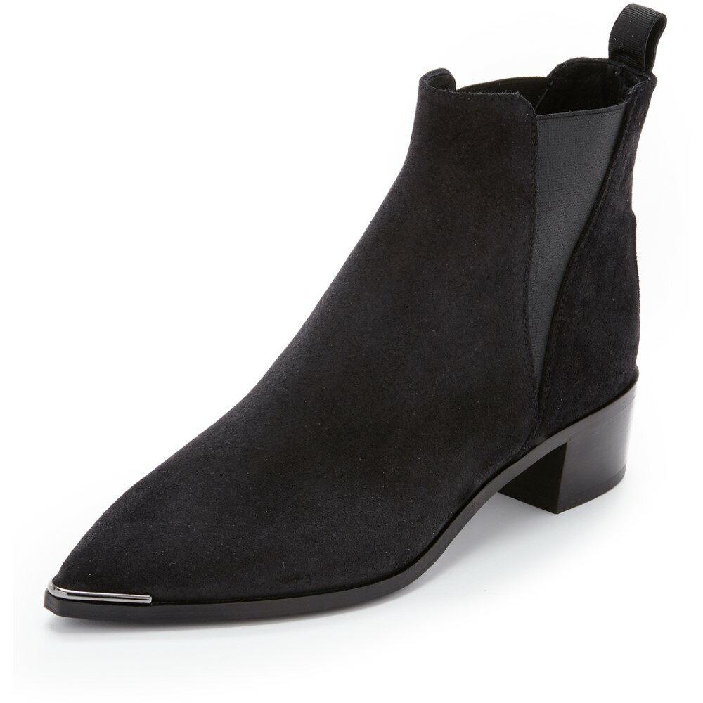 アクネストゥディオズ Acne Studios レディース シューズ・靴 ブーツ【Jensen Suede Booties】Black