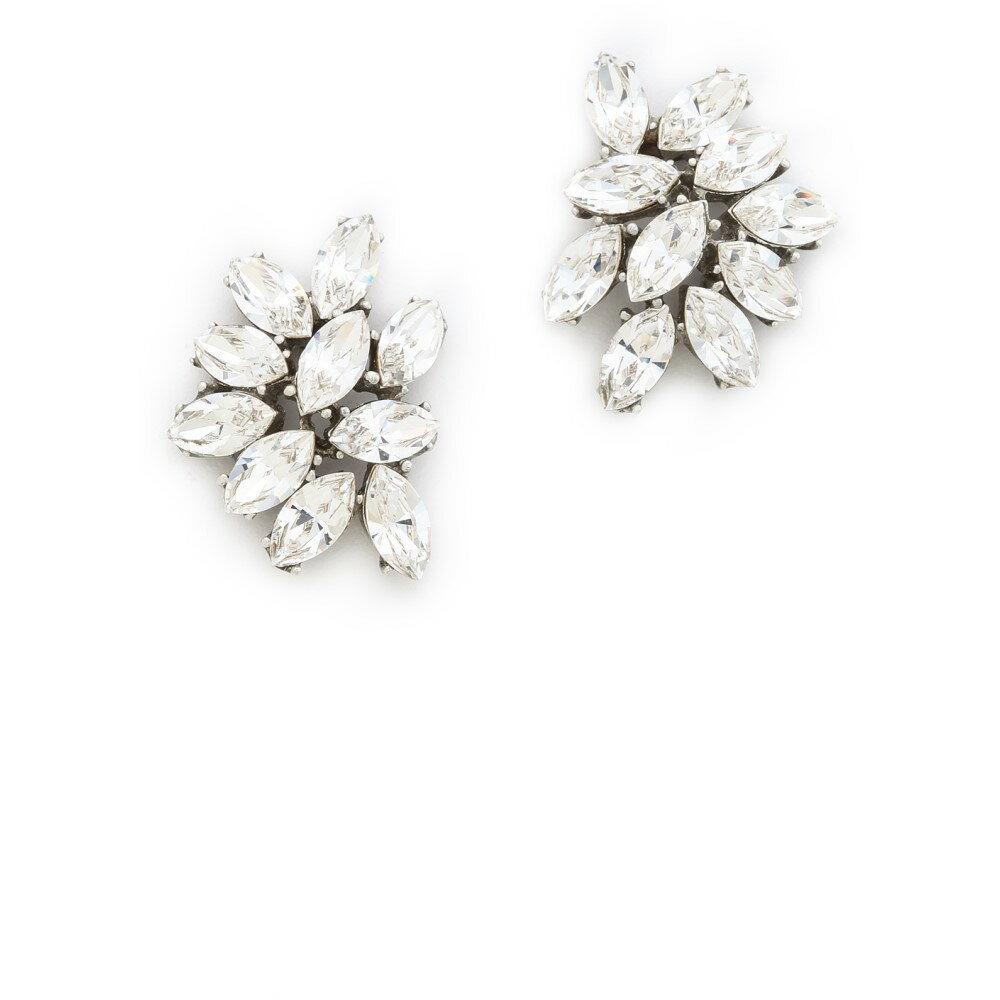 ベンアムン Ben-Amun レディース アクセサリー イヤリング・ピアス【Crystal Cluster Earrings】Clear