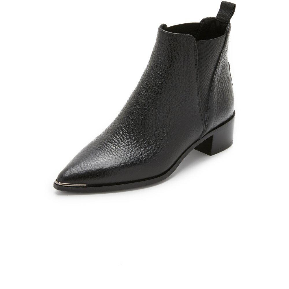 アクネ ストゥディオズ Acne Studios レディース シューズ・靴 ブーツ【Jensen Grain Chelsea Booties】Black