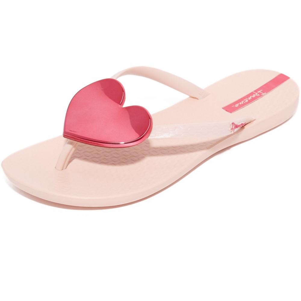 限定品 イパネマ Ipanema レディース シューズ?靴 ビーチサンダル【Wave Heart Flip Flops】Pink/Pink