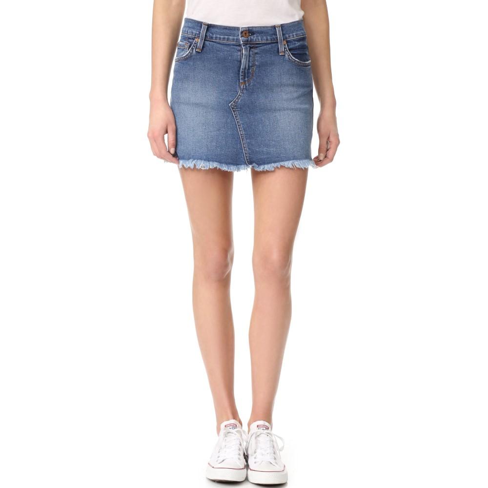 ジェームスジーンズ James Jeans レディース スカート ミニスカート【Cutoff Miniskirt】Throwback Clean