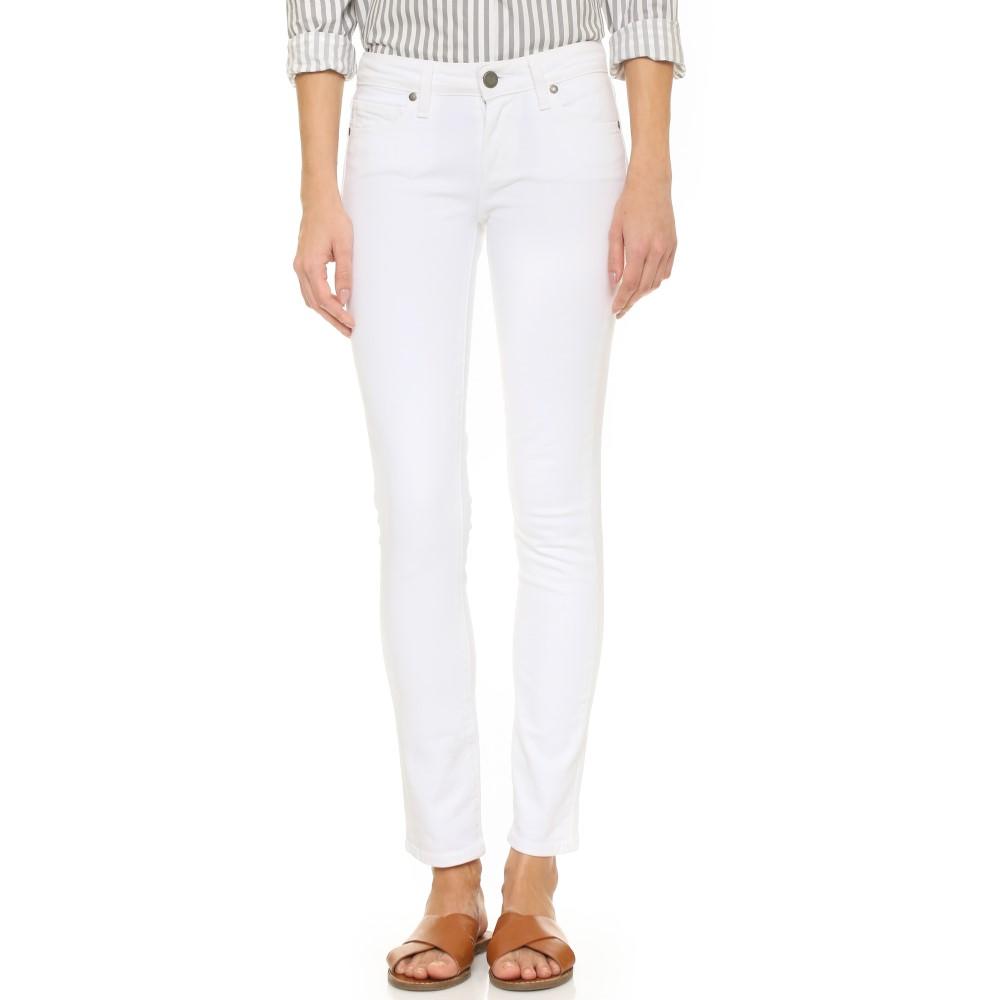 在庫一掃処分 ペイジ PAIGE レディース ボトムス ジーンズ【Skyline Ankle Skinny Jeans】Optic White