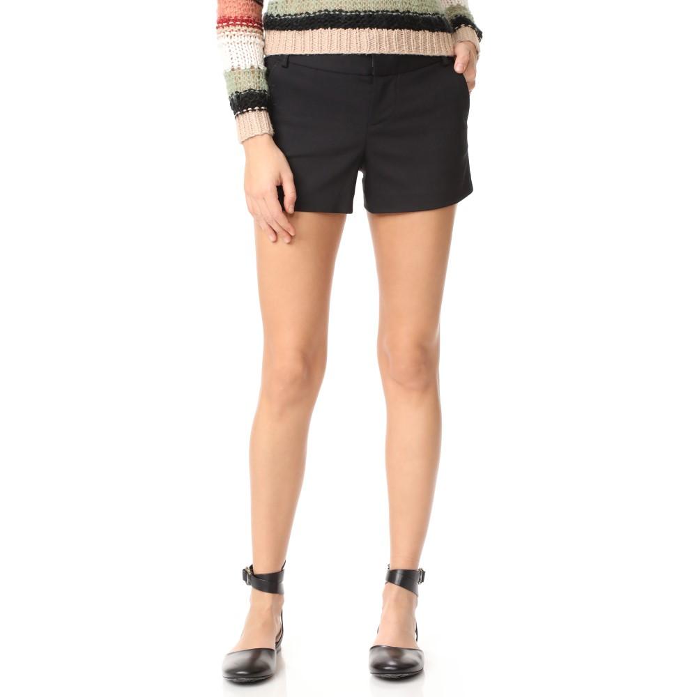 優れた人気を持っている アリス アンド オリビア alice + olivia レディース ボトムス ショートパンツ【Cady Shorts】Black