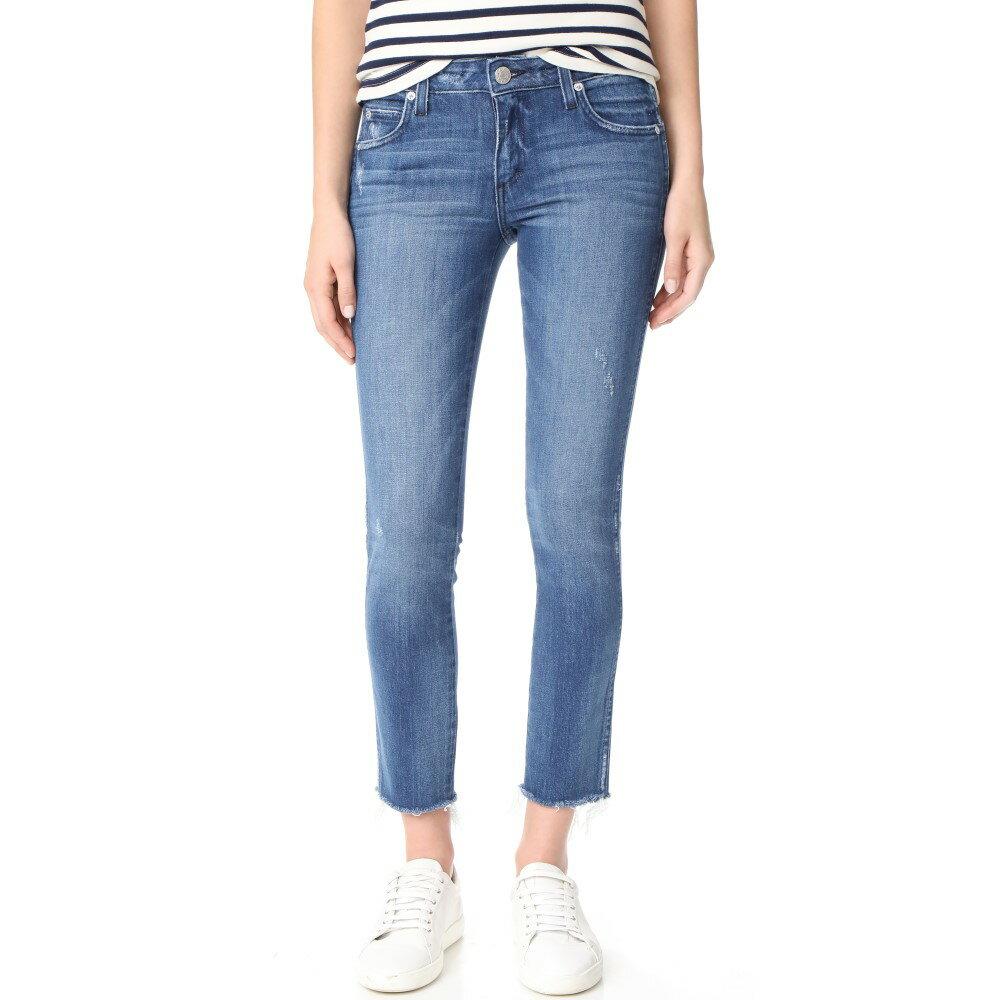 更新 アモ AMO レディース ボトムス ジーンズ【Stix Crop Jeans】Pacific