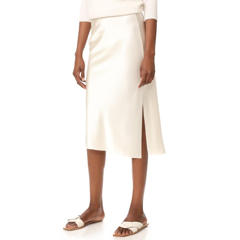 エマーソン ソープ Emerson Thorpe レディース スカート ミニスカート【Tori Mid Length Skirt】Ivory