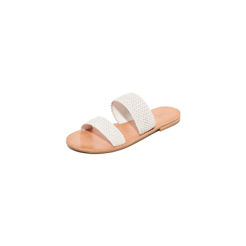 フライ Frye レディース シューズ・靴 サンダル【Ruth Woven Wrap Sandals】White