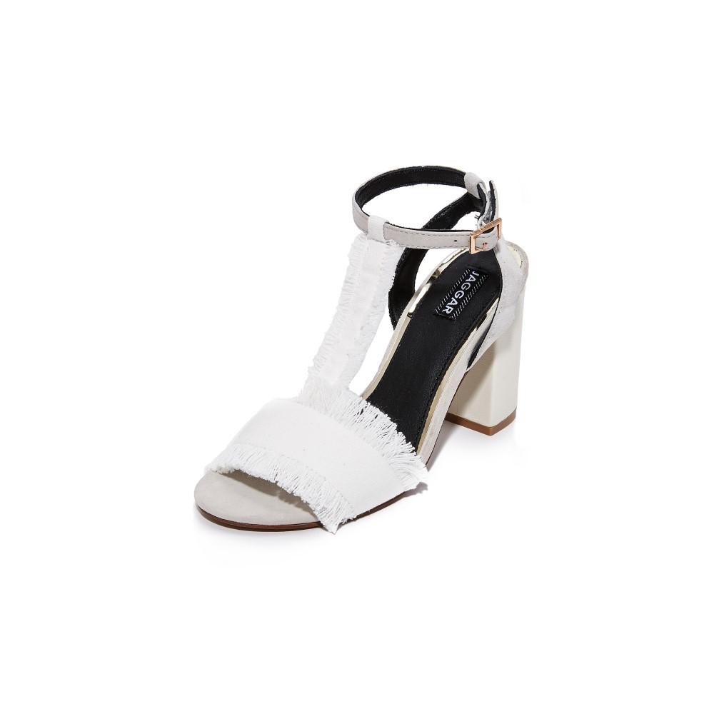 ジャガー JAGGAR レディース シューズ・靴 サンダル【Interpret Block Heel Sandals】Chalk