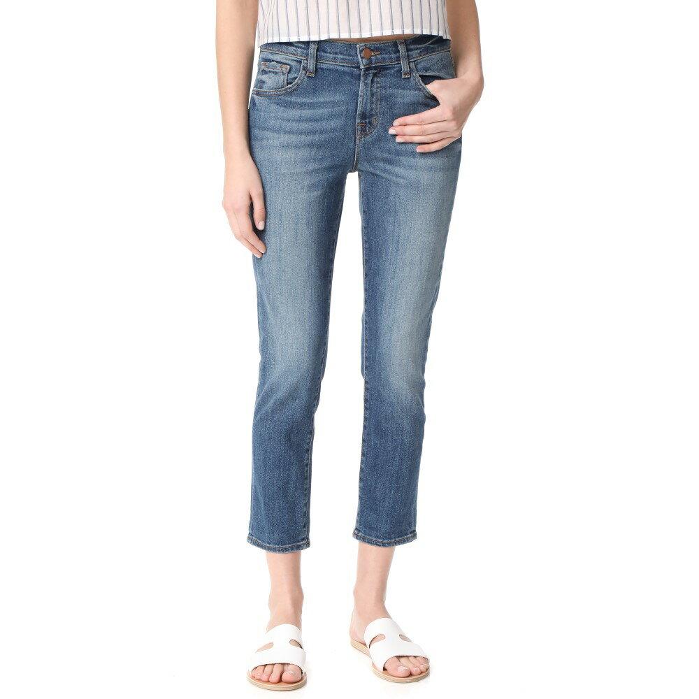 【非常に安い 】 ジェイ ブランド J Brand レディース ボトムス ジーンズ【Sadie Slim Straight Jeans】Old Rose