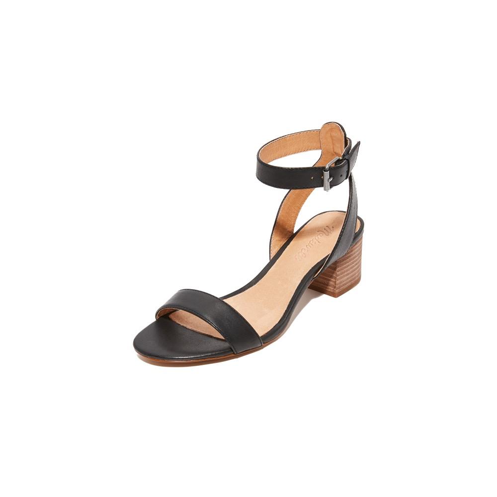 メイドウェル Madewell レディース シューズ・靴 サンダル【Odessa Simple Sandals】True Black