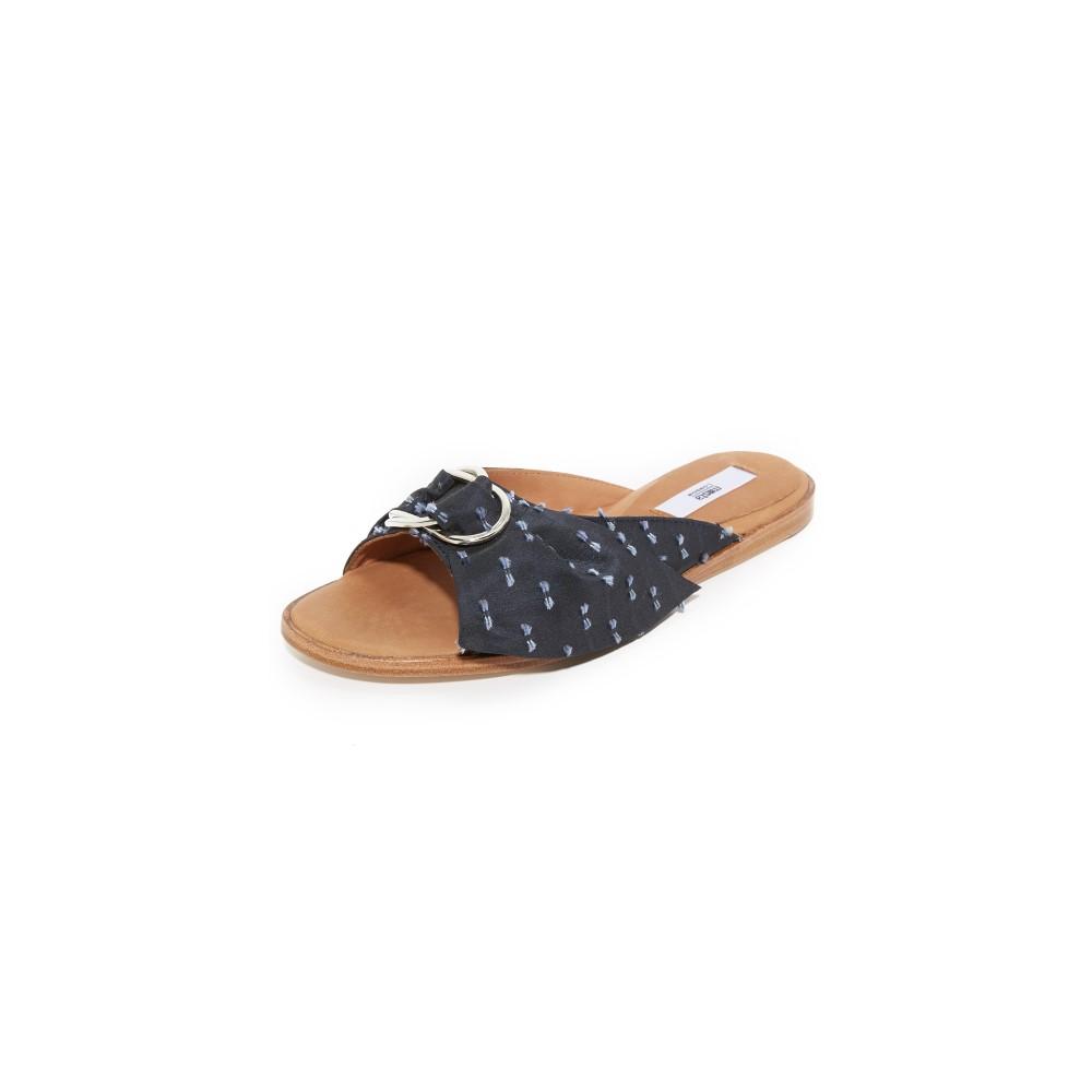 ミスタ Miista レディース シューズ・靴 サンダル【Jeni Slides】Navy Bows