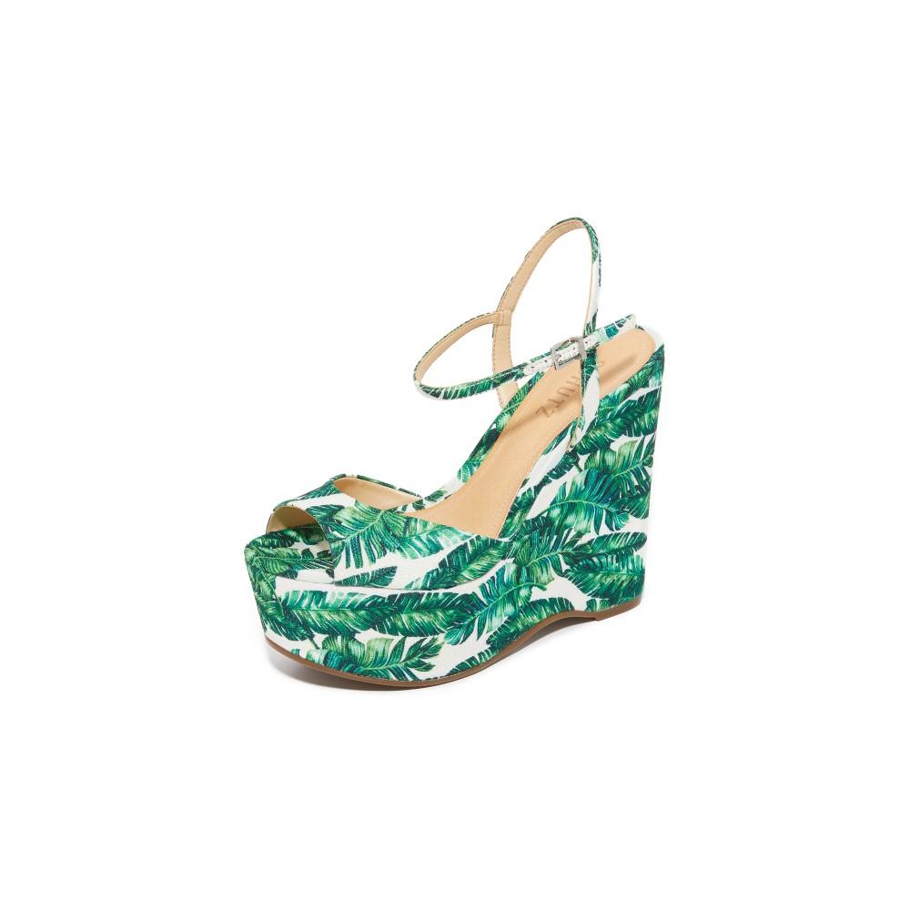 シュッツ Schutz レディース シューズ・靴 サンダル【Patrycia Wedge Sandals】White