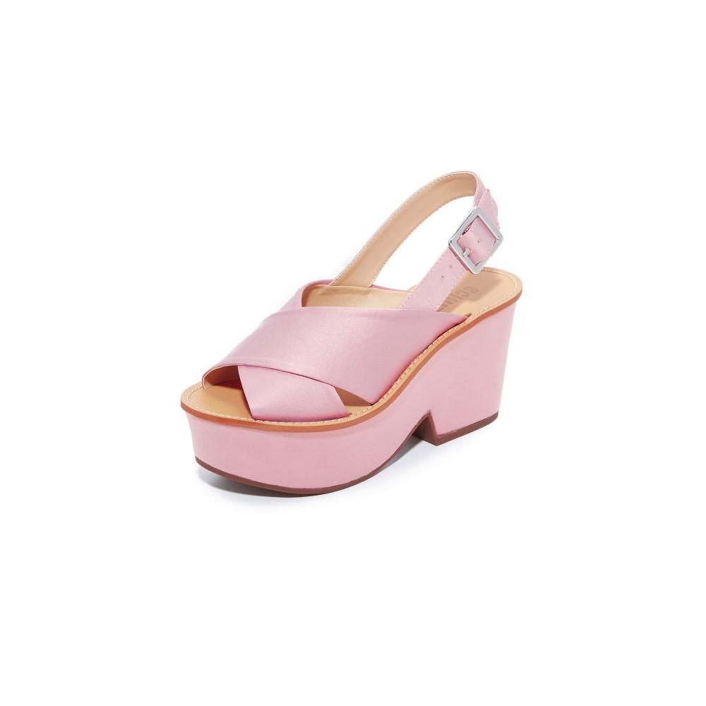 シュッツ Schutz レディース シューズ・靴 サンダル【Miriam Platform Sandals】Rose/Tan