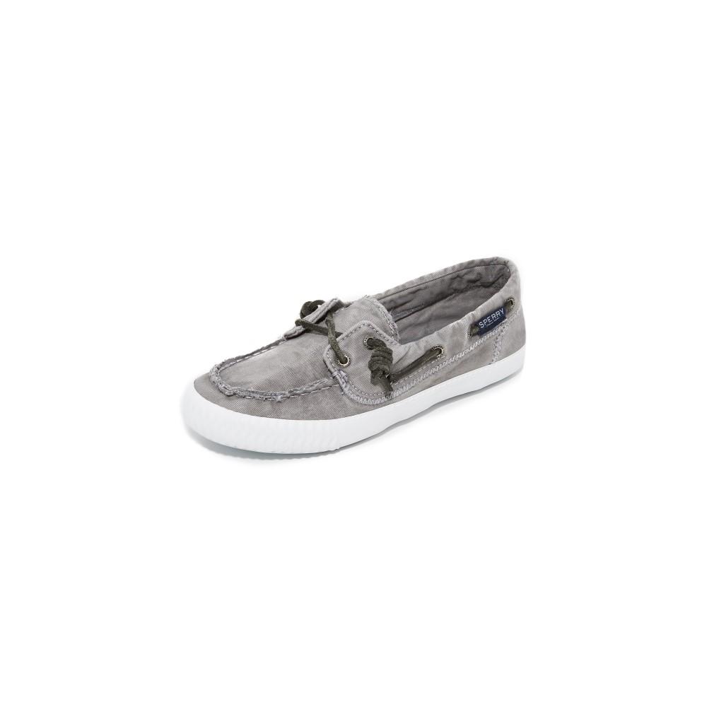 スペリー Sperry レディース シューズ・靴 ローファー【Sayel Away Boat Shoes】Grey