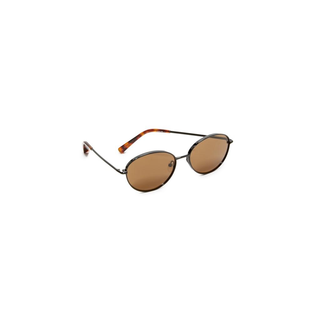 エリザベス アンド ジェームス Elizabeth and James レディース アクセサリー メガネ・サングラス【Fenn Sunglasses】Black/Brown Mono